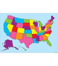 Smart Poly Charts 13\u0022x19\u0022 US Map 11pk