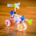 Brackitz 43 pk Driver STEM Car Building Toy