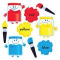 TREND enterprises, Inc. Colortime Paints Bulletin Board Set, 2 Sets