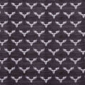 Super Snuggle Flannel Fabric-Buffalo Check Stag Head on Black