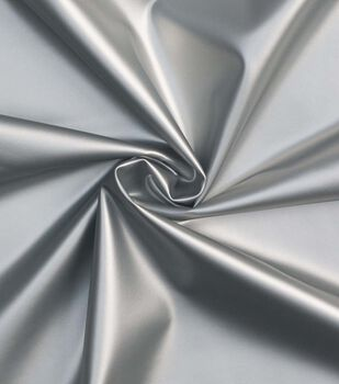 Cosplay by Yaya Han Pleather Fabric -Silver