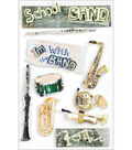 Paper House School 3-D Stickers-Band