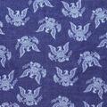 Anti-Pill Plush Fleece Fabric-USA Seal Tossed