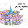 Stamping Bella 2 pk Rubber Cling Stamps-Gnome Bouquet