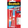 3M Scotch Advanced Formula Super Glue 2Pk-0.07 Ounces