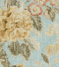 Waverly Upholstery Fabric 13x13\u0022 Swatch-After Glow Spa
