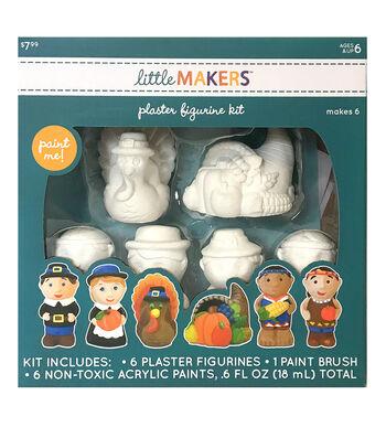 Little Makers Plaster Figurine Kit-Thanksgiving