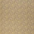 Keepsake Calico Cotton Fabric-Gold Metallic Vintage Scrolls