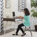 Studio Designs Alcove Desk-White/Chestnut