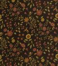 Home Decor 8\u0022x8\u0022 Fabric Swatch-Robert Allen Mirabilis Chocolate Fabric