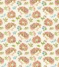 Novelty Cotton Fabric 44\u0022-Floral Hedgehogs