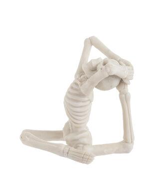 Maker's Halloween Craft Resin Yoga Skeleton in Bend Back Pose