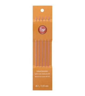 Boye Double Point Aluminum Knitting Needles 7''
