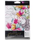 Prima Princesses Cling Stamp 5\u0022X7\u0022-Victoria
