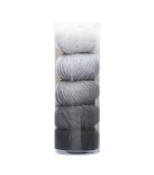 Big Twist Gradient 5 pk Yarns-Charcoal