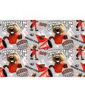 Oregon State University Beavers Cotton Fabric-Collegiate Mascot