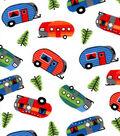 Snuggle Flannel Fabric 42\u0027\u0027-Bright Campers
