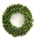 Blooming Holiday Christmas 30\u0027\u0027 PVC Pine Wreath