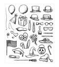 Tim Holtz Cling Stamps 7\u0022X8.5\u0022-Crazy Things