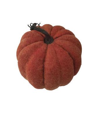 Simply Autumn Medium Felt Pumpkin-Orange