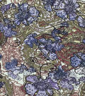 Silky Prints Stretch Chiffon Fabric -Paisley & Floral