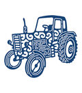 Tattered Lace Metal Die-Tractor