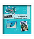 MCS Industries Collector\u0027s Museum Shadow Box Scrapbook Frame 12\u0027\u0027x12\u0027\u0027
