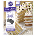 Wilton Easy Layers! Round Layer Cake Pans Set,  4-Piece