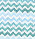 Keepsake Calico™ Cotton Fabric-Blue Ombre Chevron