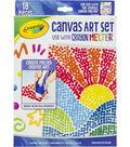Crayola Crayon Melter Accessory Pack-Canvas Art 18/Pkg