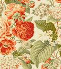 Home Decor 8\u0022x8\u0022 Swatch Fabric-Waverly SNS Garden Glory  Sunset