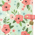 Simple Stories Carpe Diem A5 Planner-Mint Blossom