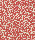 Lightweight Decor Fabric-Waverly Coral Cascade Petal