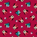 Disney Minnie Mouse Cotton Fabric-Tossed Heads