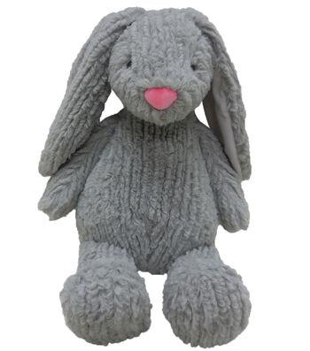 Easter Decor 10'' Sitting Plush Bunny-Gray