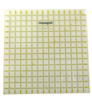 "Omnigrid Quilting Square Ruler 15"" x 15"""