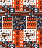 Detroit Tigers Cotton Fabric -Winter, , hi-res