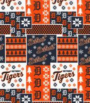 Detroit Tigers Cotton Fabric-Winter, , hi-res