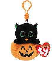 Ty Halloween Beanie Boos Midnight Pumpkin & Bat with Clip, , hi-res