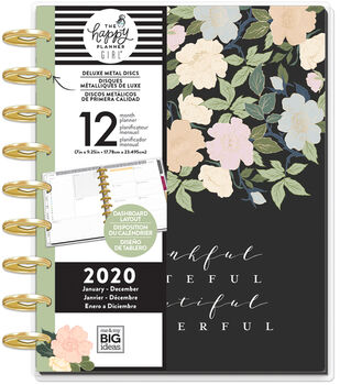 The Happy Planner Girl Deluxe Classic 2020 Planner-Homebody Floral