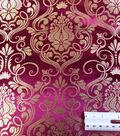 Cosplay by Yaya Han Brocade Fabric -Fuchsia
