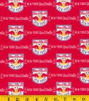 "New York Red Bulls Cotton Fabric 58""-Logo, , hi-res"