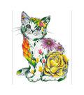 Diamond Dotz Diamond Embroidery Facet Art Kit 21.7\u0022X30.7\u0022-Flower Cat