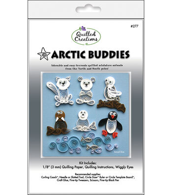 Quilled Creations Quilling Kit-Arctic Buddies