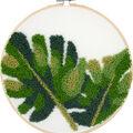 Leaves Punch Needle Kit