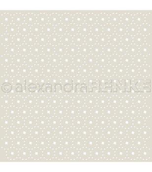 "Alexandra Renke Stencil 6""X6""-Stars & Points"