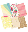 Color Crush A5 Faux Leather Planner Kit 7.5\u0022X10\u0022-Sweet Caroline