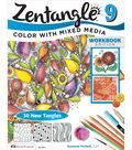 Adult Coloring Book-Design Originals Zentangle 9 Workbook Edition
