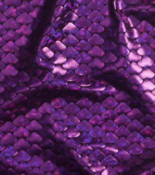 Cosplay by Yaya Han Metallic Scales Fabric -Metallic Purple