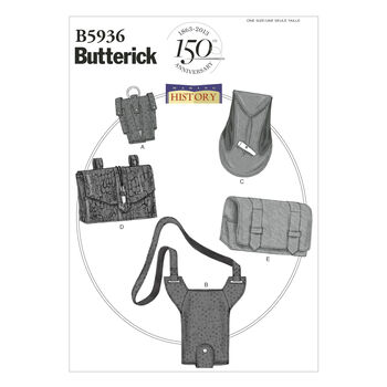 Butterick Crafts Historical Costumes-B5936